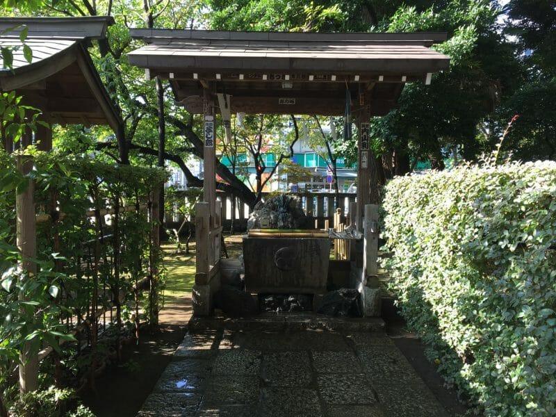 武蔵野八幡宮の手水舎