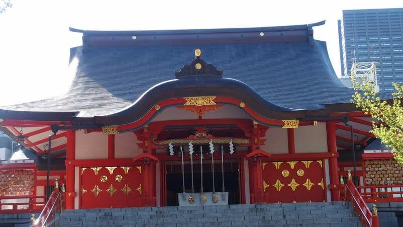 新宿野花園神社