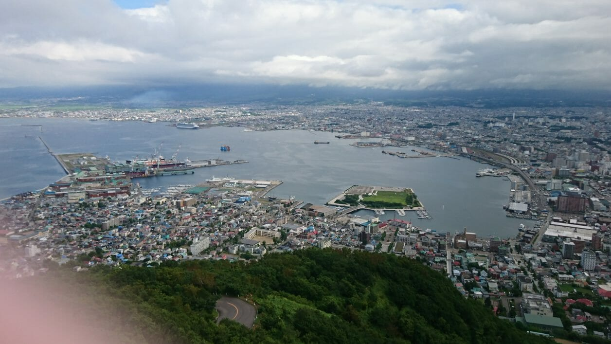 函館山から見た景色
