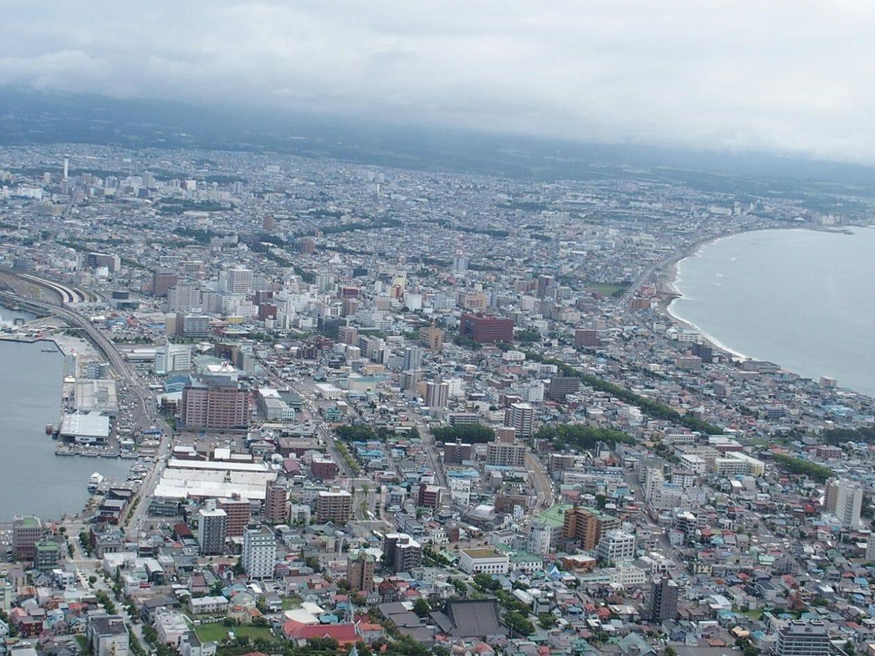 函館山から見える景色