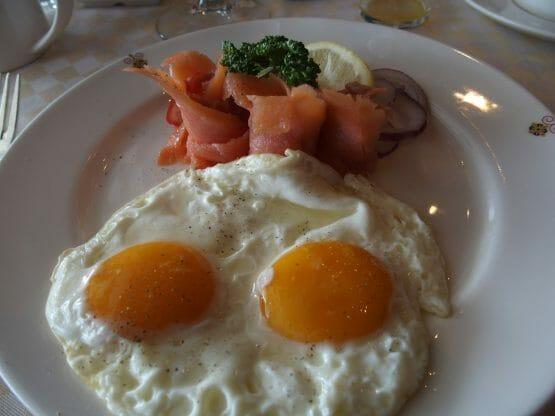 ダイヤモンドプリンセスのスイートの特典サバティーニの朝食