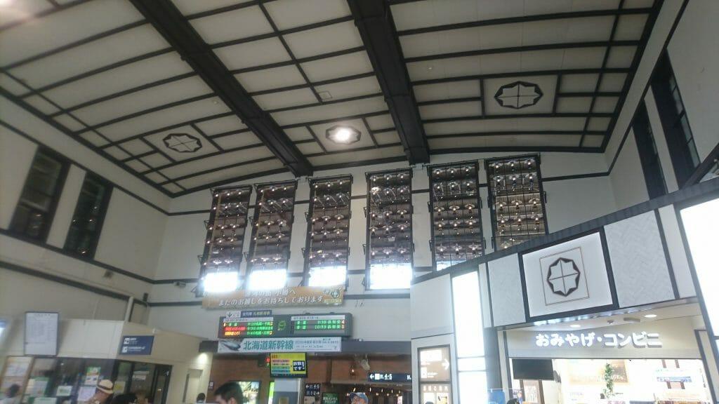 北海道の小樽駅