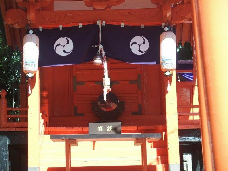 田無神社の境内にある野分稲荷神社のご利益は商売繁盛