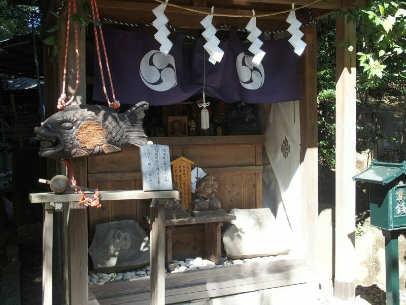 田無神社の恵比須神と大国神