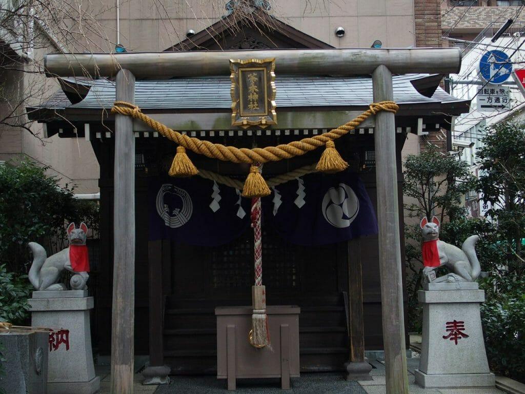 日本橋七福神の茶ノ木神社