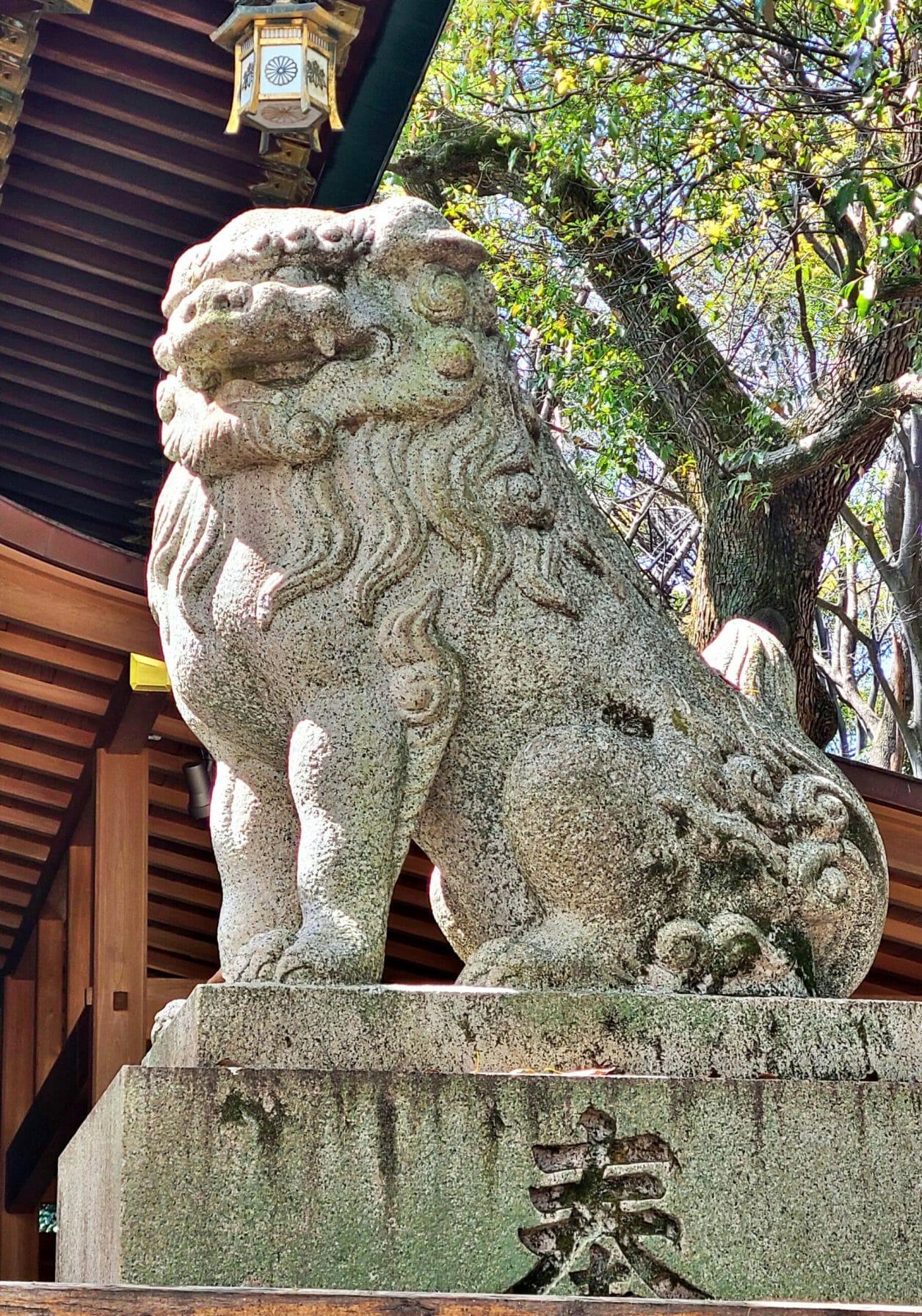 大宮八幡宮の狛犬
