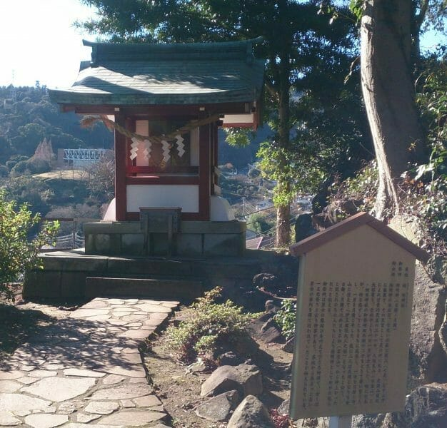 熱海の伊豆山神社の境内にある結明社の拝殿