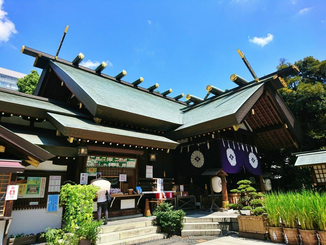 東京大神宮の拝殿