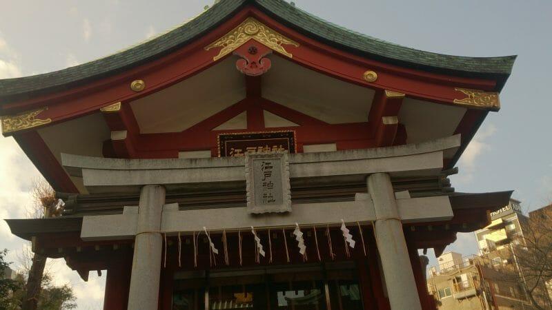 神田明神の境内にある江戸神社