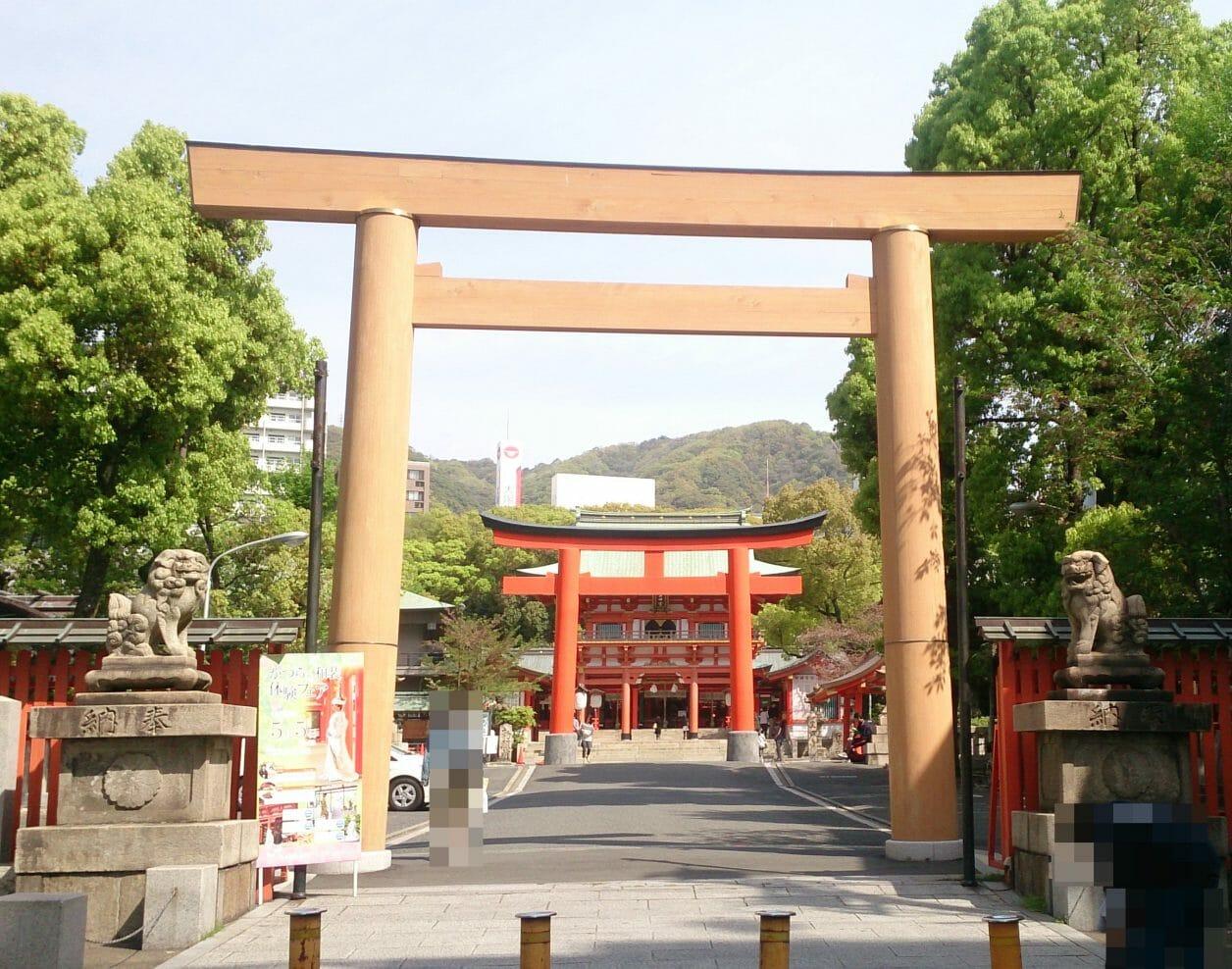 生田神社の第二の鳥居