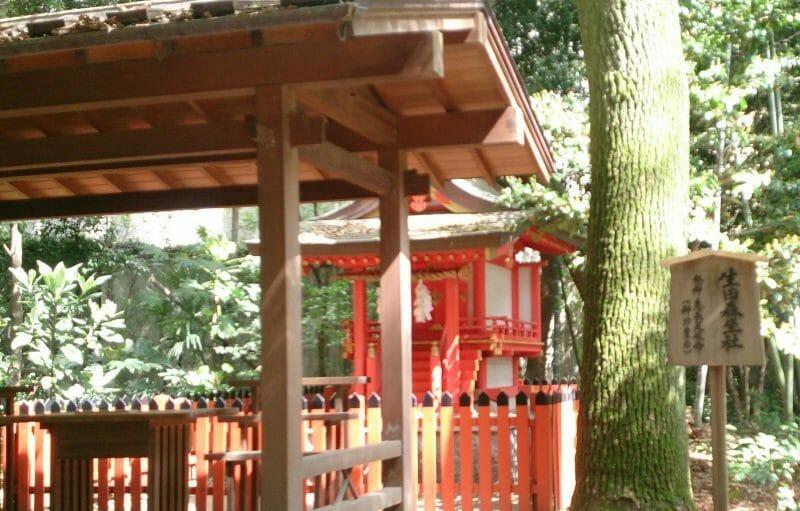 生田神社で安産のご利益のある生田森坐社