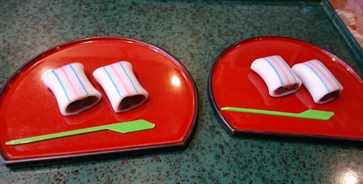 多賀大社の名物糸切り餅