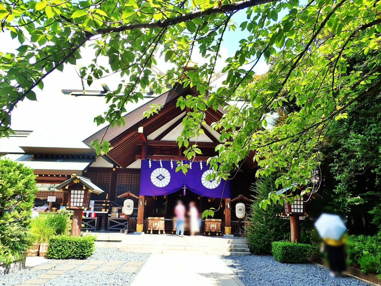 縁結びのご利益がある東京大神宮