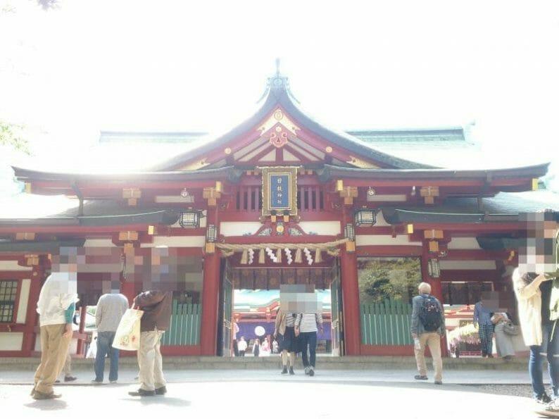 赤坂山王日枝神社の神門
