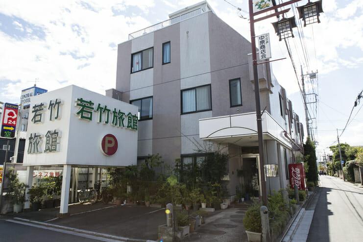 川越氷川神社参拝に便利なホテル