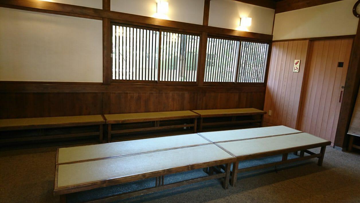 川越氷川神社の御祈祷待合所