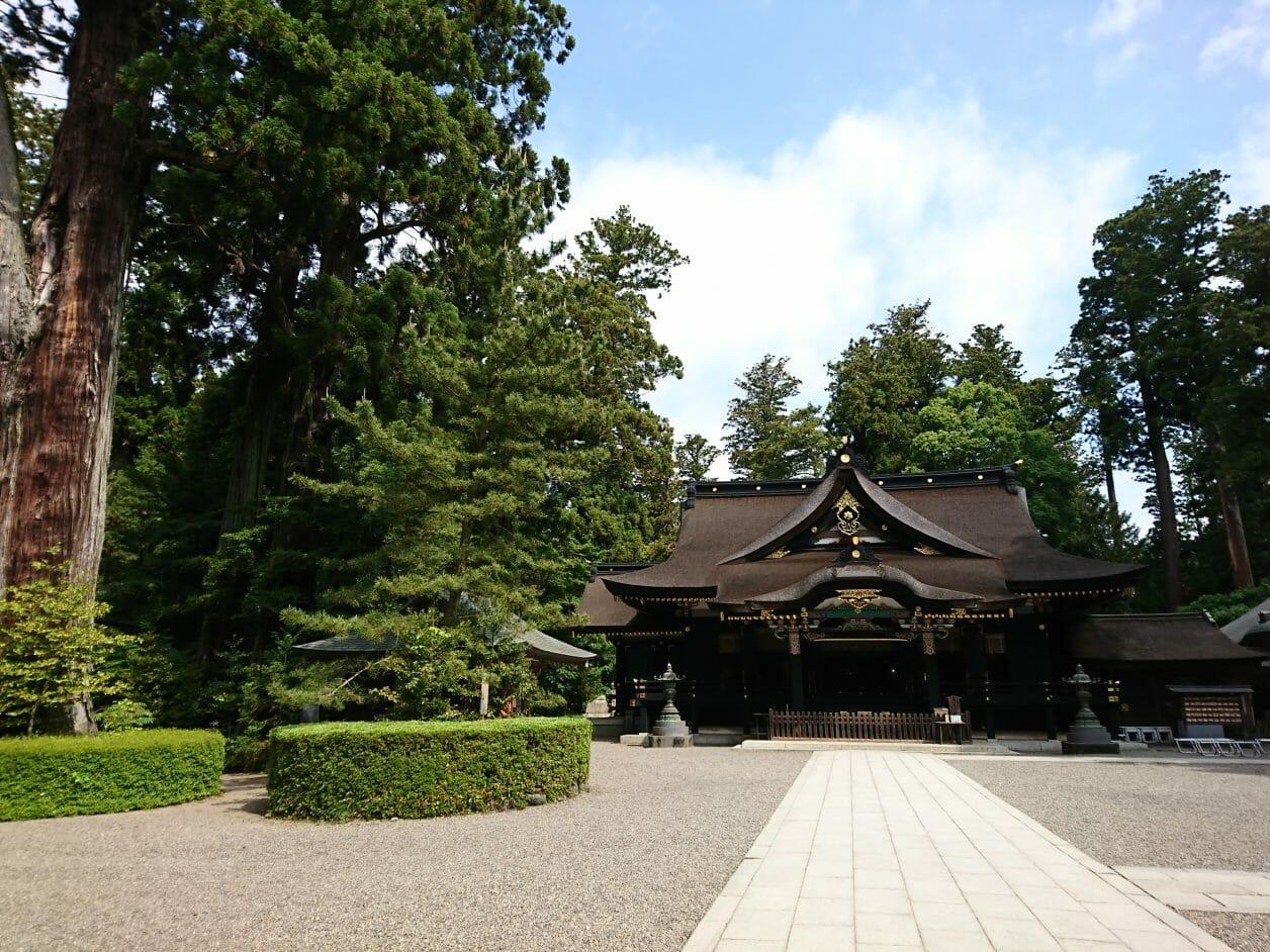 香取神宮の境内