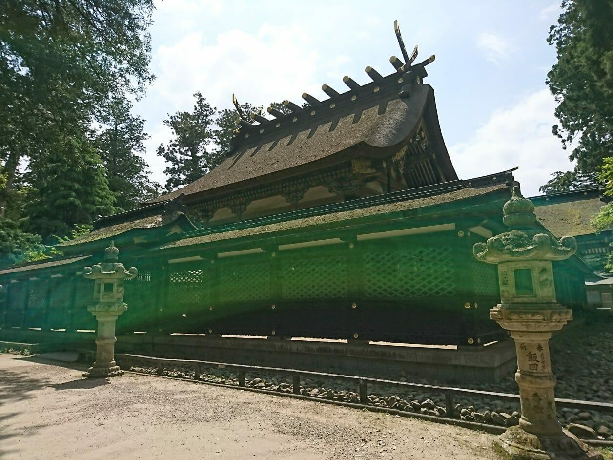 香取神宮のご本殿