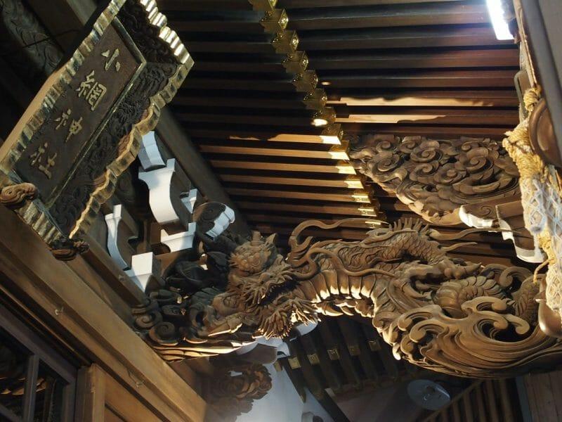 日本橋小網神社の本殿