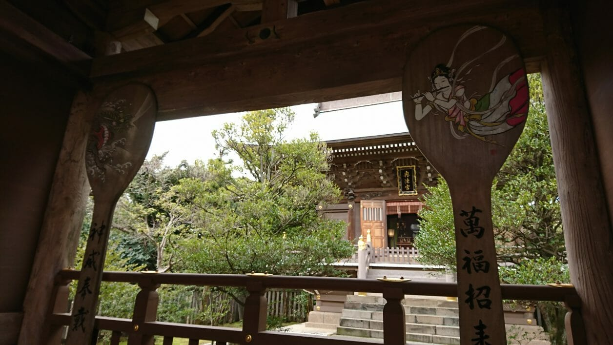 江ノ島神社の奥津宮