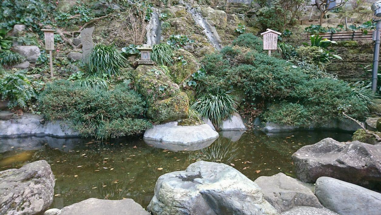 江ノ島神社の無熱地