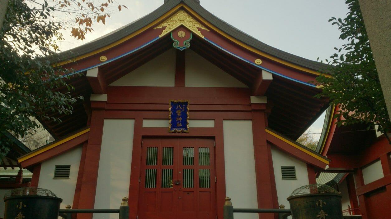 神田明神の境内にある小舟八雲神社