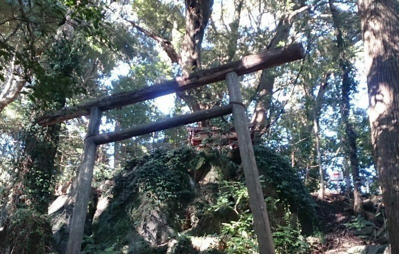 熱海の伊豆山神社にある白山神社の本殿