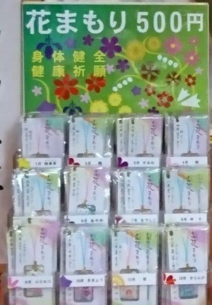 箱根神社の花まもり
