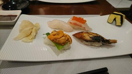 ダイヤモンドプリンセスの寿司レストラン