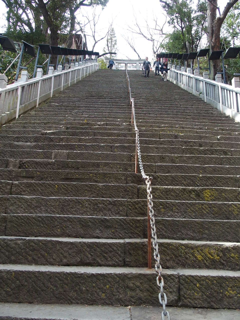 東京港区愛宕神社の出世の石段