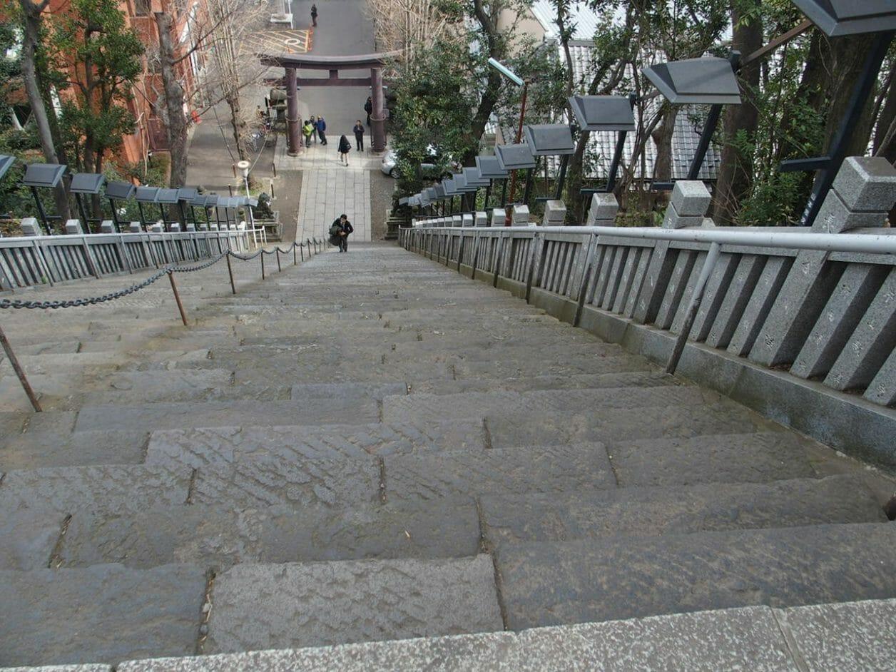 東京港区で出世のご利益がある愛宕神社の出世の階段