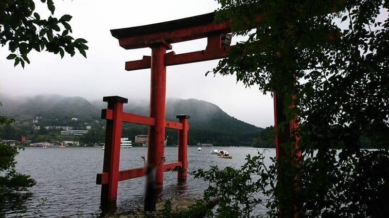 縁結びのご利益がある箱根神社