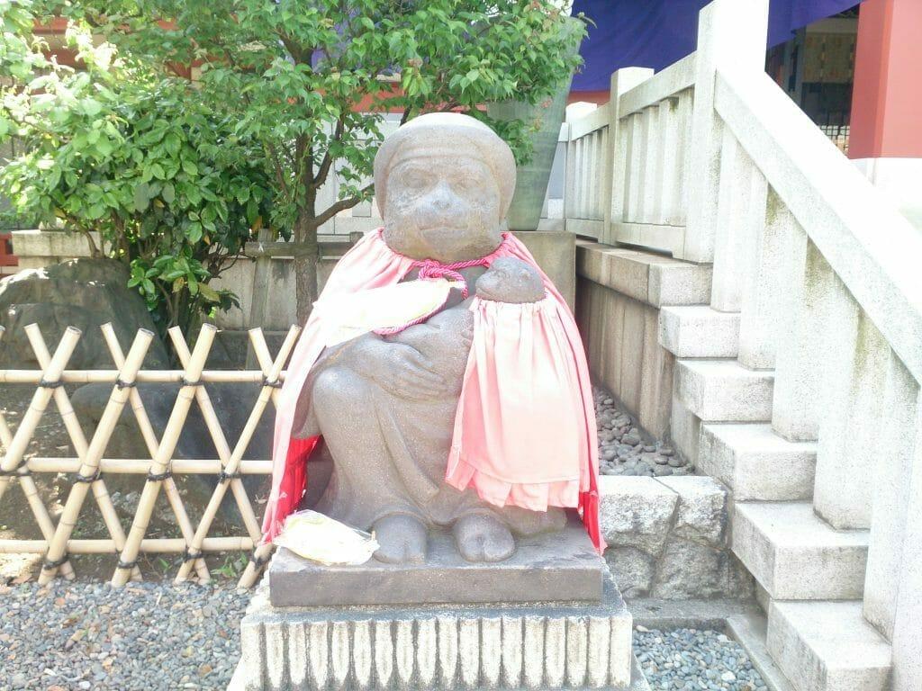 赤坂山王日枝神社の猿