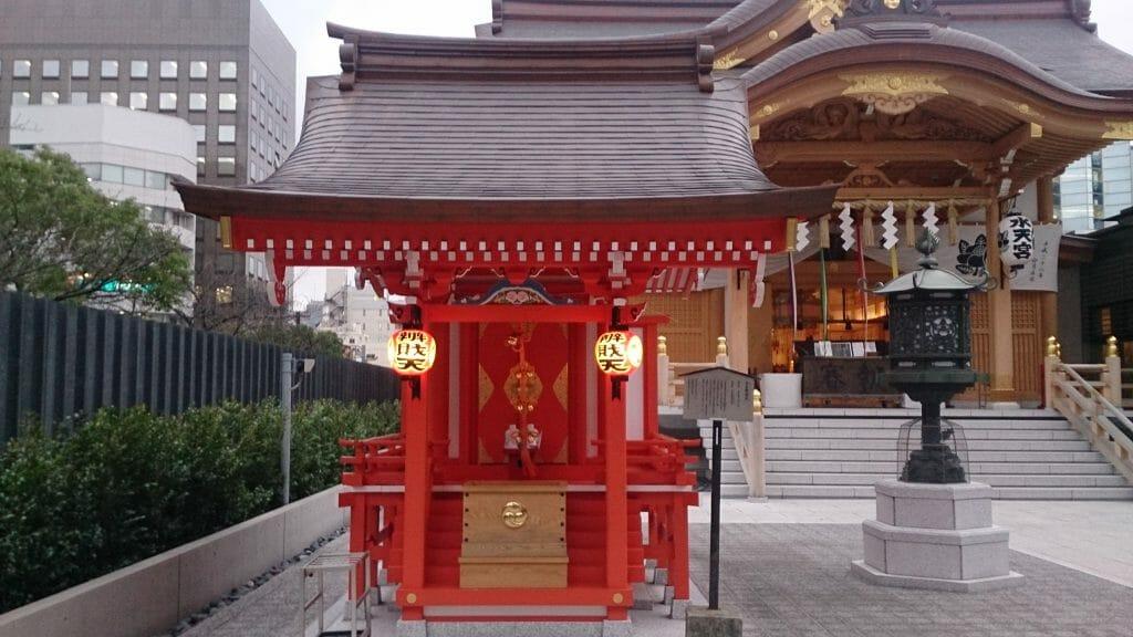 日本橋水天宮の弁財天