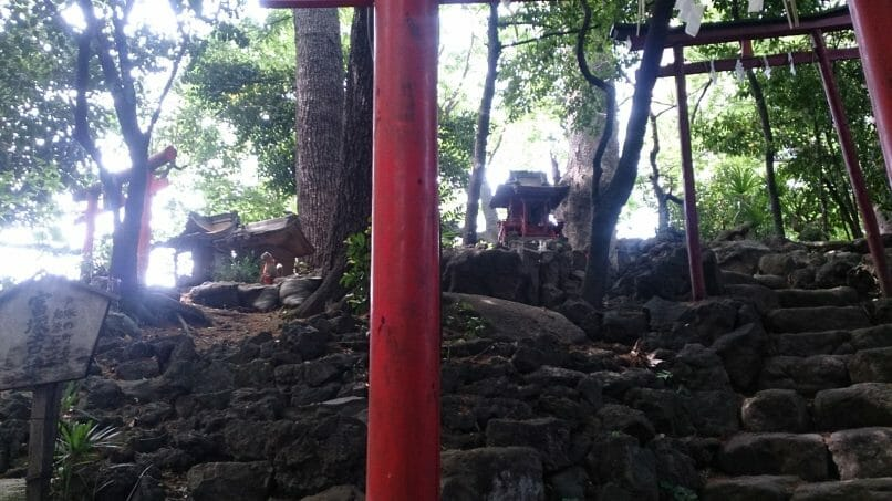 早稲田のパワースポット水稲荷神社