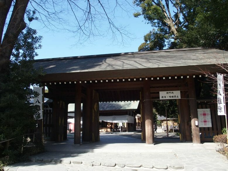 阿佐ヶ谷神明宮の瑞祥門