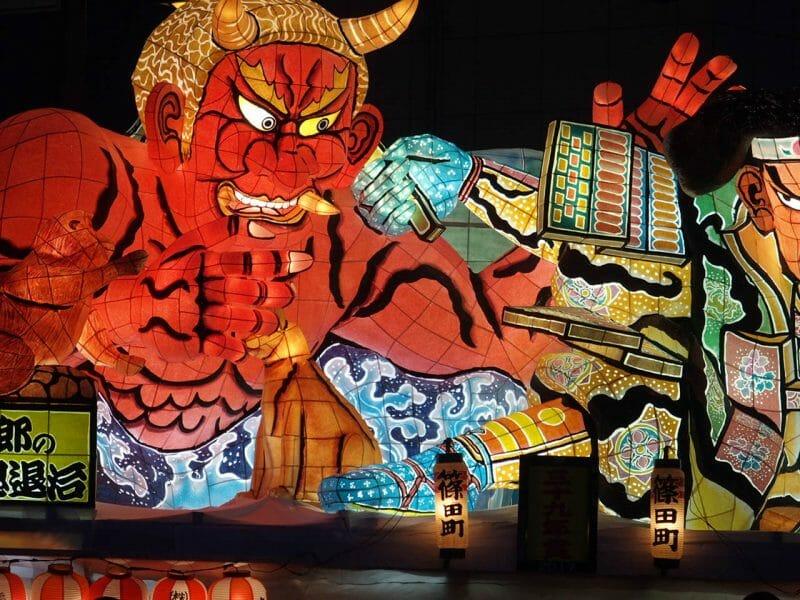 青森のねぶた祭8月2日