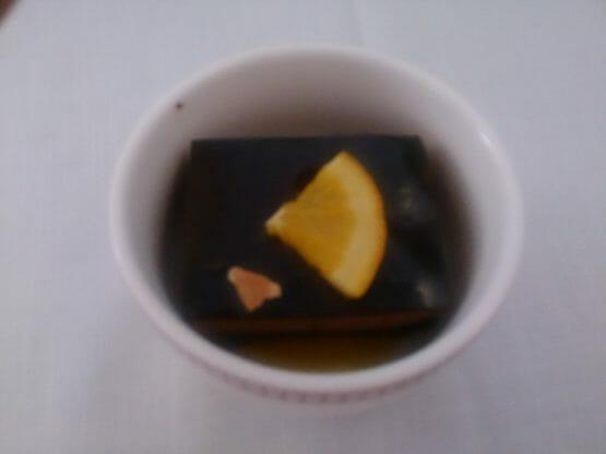 イベリア航空ビジネスクラスの機内食のデザート