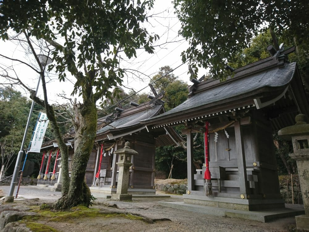白鬚神社の境内