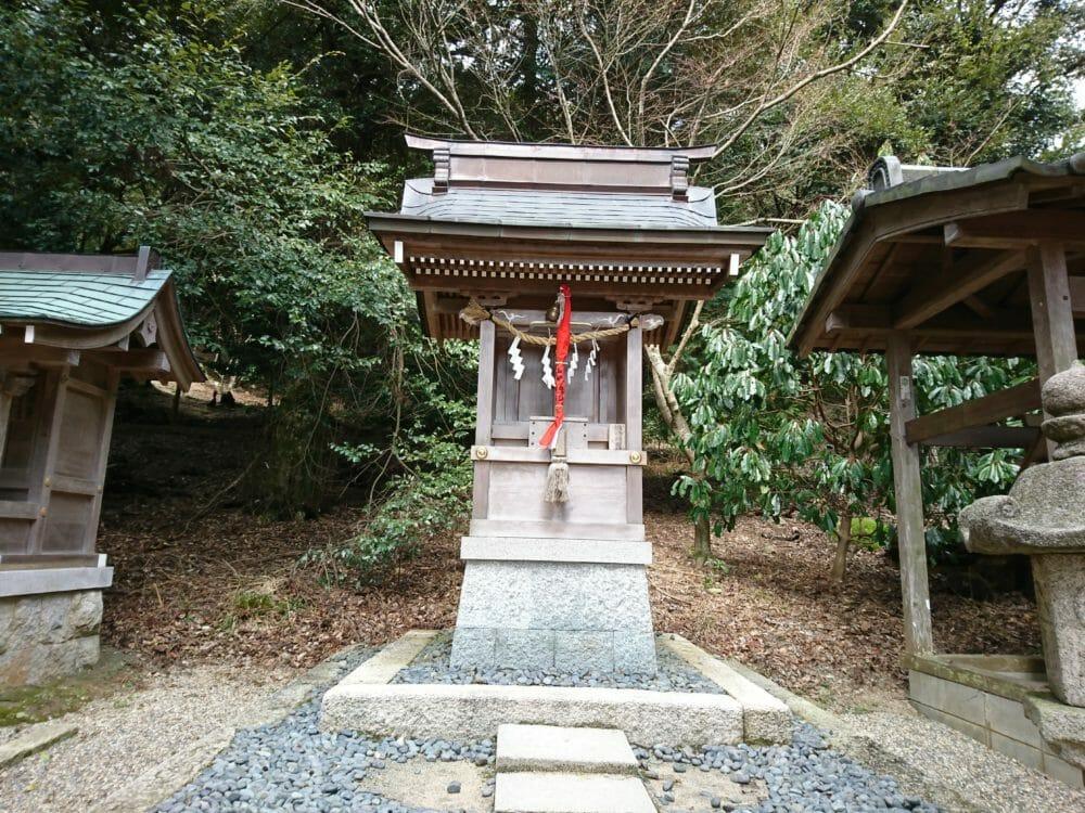 白鬚神社の上の宮