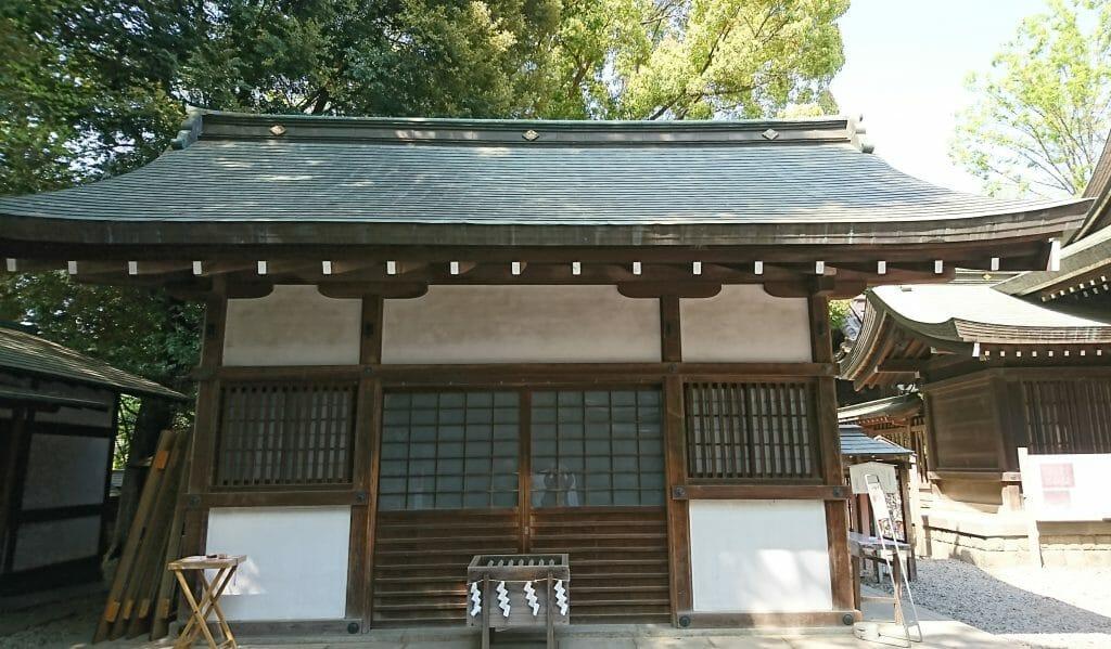 川越氷川神社のある八坂神社