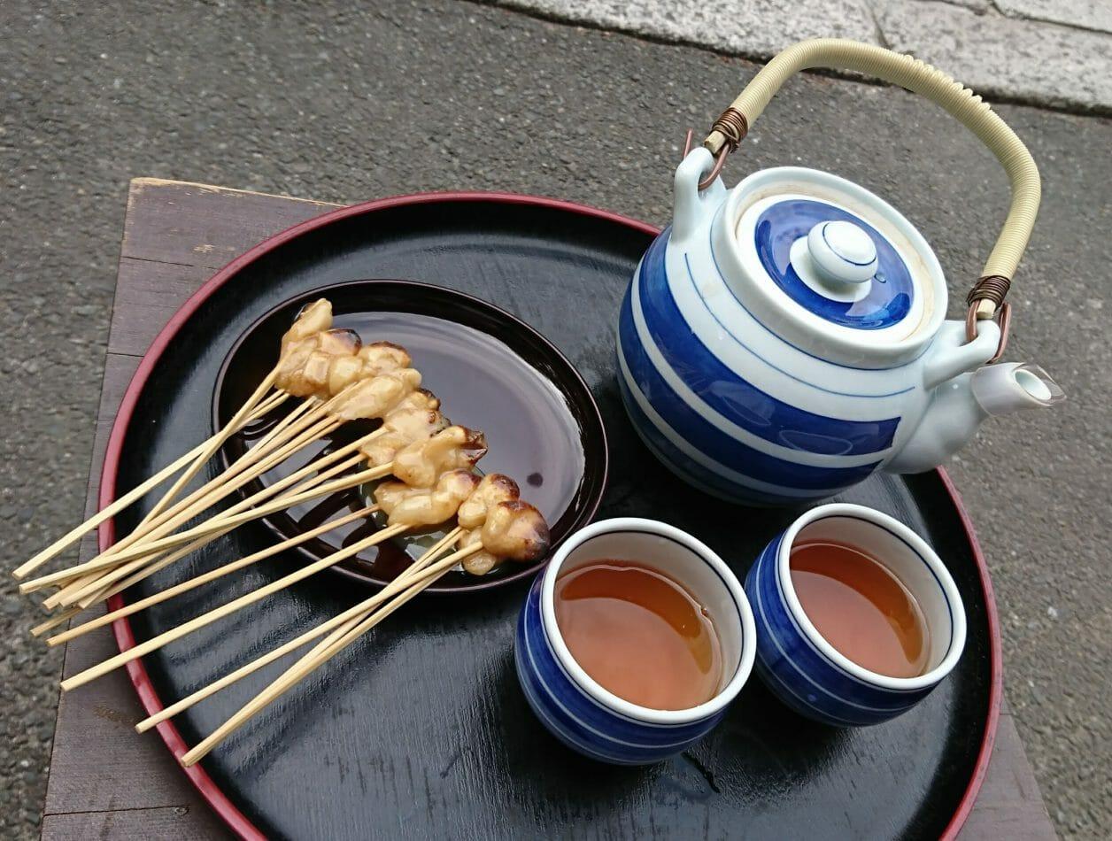 京都今宮神社の縁起物あぶり餅