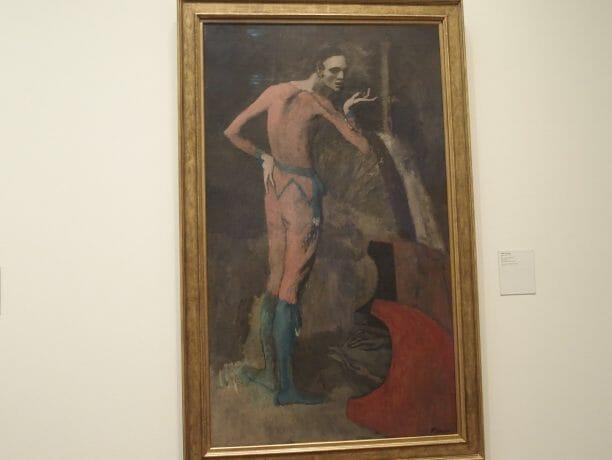 ニューヨークメトロポリタン美術館のピカソ