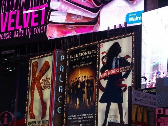 ニューヨーク ブロードウェイミュージカル