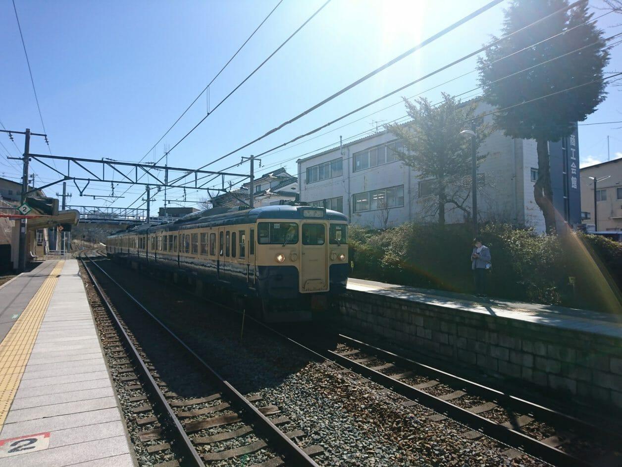 しなの鉄道御代田駅