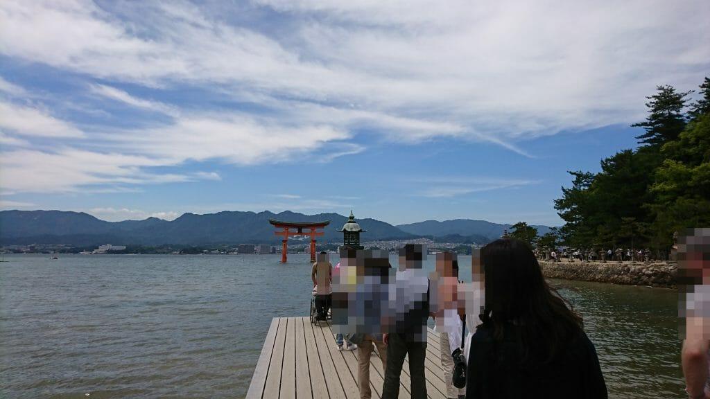 厳島神社のインスタ映えするスポット