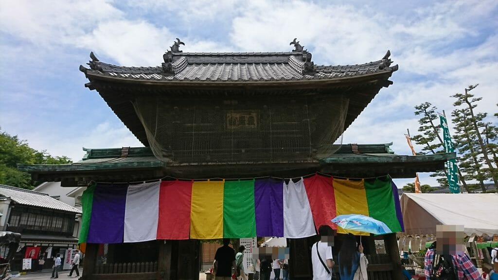 宮島厳島神社の近くのパワースポット大願寺