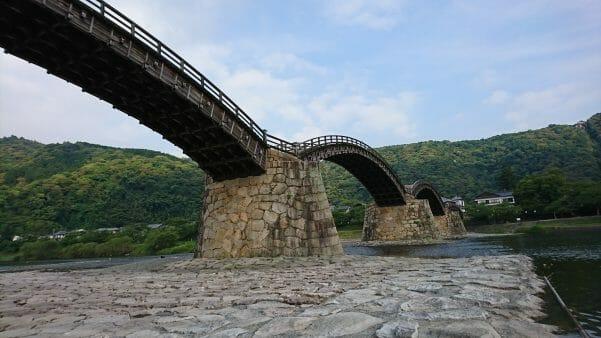 山口県岩国市の錦帯橋