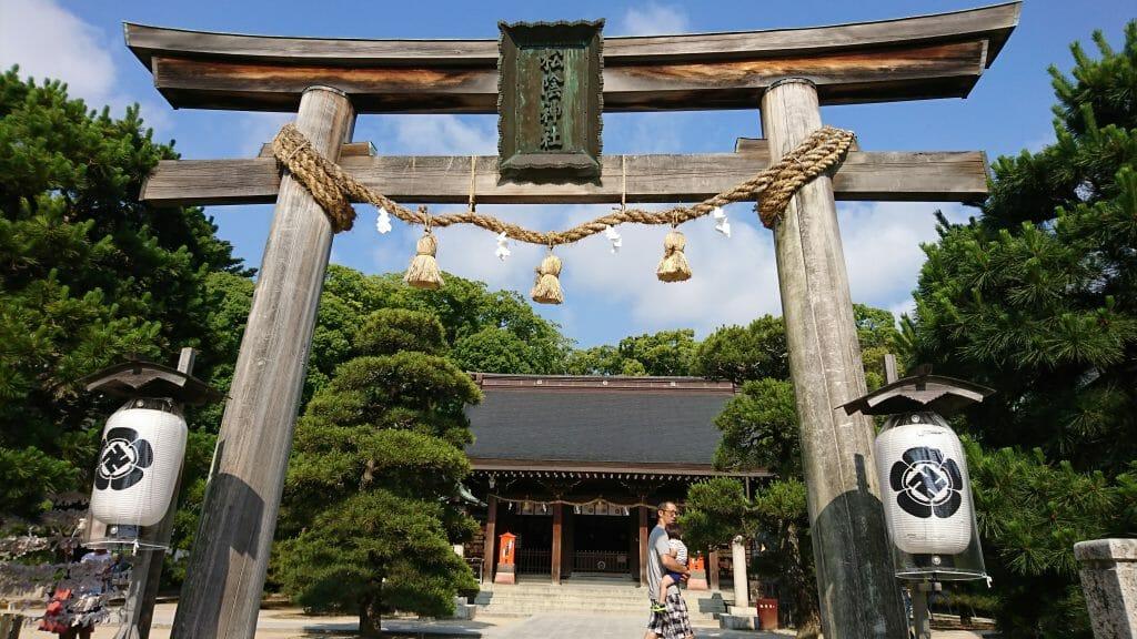 山口県萩市の松陰神社と松下村塾