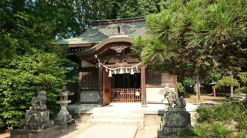 山口県萩市の松陰神社境内にある松門神社